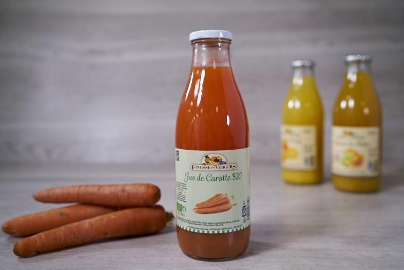 Jus de carottes Bio